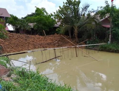 Rain Delays Work on Dog Park